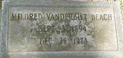 Mildred <i>Vanderbilt</i> Beach