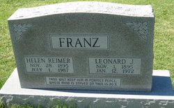 Leonard J Franz