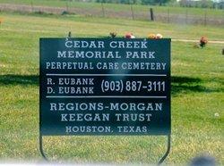 Cedar Creek Memorial Park