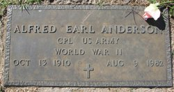 Alfred Earl Andy Anderson