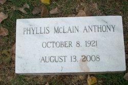 Phyllis <i>McLain</i> Anthony