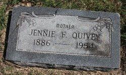 Jennie <i>Freemont</i> Quivey