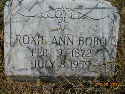 Roxie Ann <i>Hasty</i> Bobo