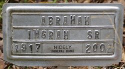 Abraham Lincoln Ingram, Sr