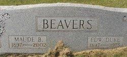 Maude <i>Bugg</i> Beavers