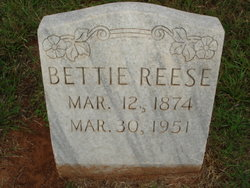 Nancy Elizabeth Betty <i>Daniel</i> Reese