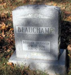 Beulah <i>DeHaven</i> Beauchamp