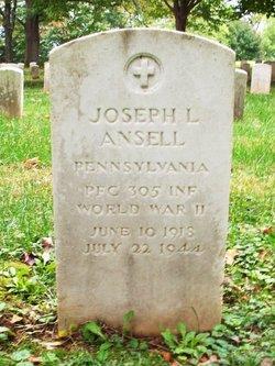 PFC Joseph Lee Ansell