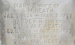 Mary Frances <i>Adams</i> Heath