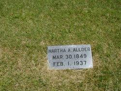 Martha Ann <i>Pyle</i> Allder