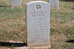William A Browne