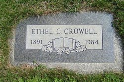 Ethel Carrie <i>Wilson</i> Crowell
