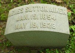 Agnes <i>Sutton</i> Aiken