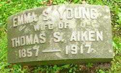 Emma S. <i>Young</i> Aiken