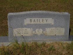 Walter L Bailey