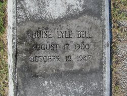 Louise Susie <i>Lyle</i> Bell