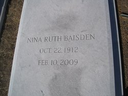 Nina Ruth Baisden