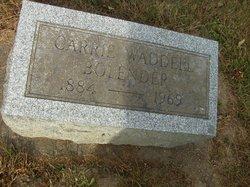 Carrie <i>Waddell</i> Bolender