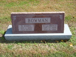 M Clarence Bowman