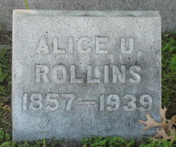 Alice U. <i>Underwood</i> Rollins