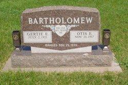 Gertrude Ella Gertie <i>Greenlee</i> Bartholomew