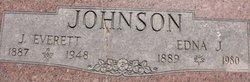 Edna J Johnson