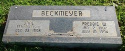 Freddie W. Beckmeyer