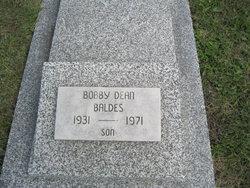 Bobby Dean Baldes