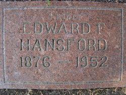 Edward F Ed Hansford