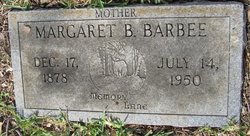 Margaret B Maggie <i>Wisely</i> Barbee