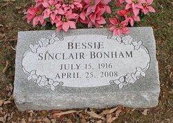 Bessie Jane <i>Sinclair</i> Bonham