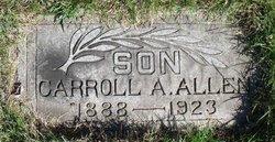 Carroll A Allen