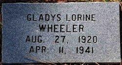 Gladys Lorine Wheeler