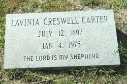 Lavinia <i>Creswell</i> Carter