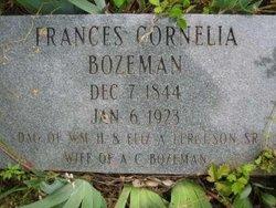 Frances Cornelia <i>Ferguson</i> Bozeman