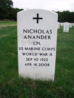 Nicholas Anander