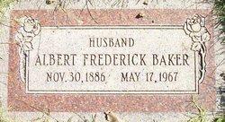 Albert Frederick Baker