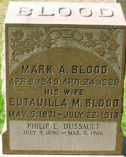 Eutavilla May <i>Bishop</i> Blood