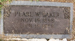Mattie Pearl <i>Whittington</i> Baker