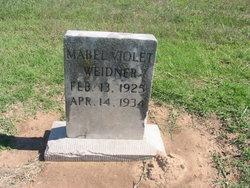 Mabel Violet Weidner