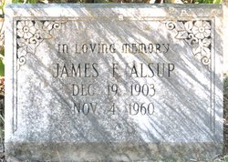 James Fred Buddy Alsup