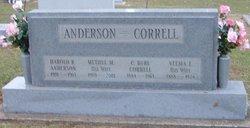 Methyl Margaret <i>Correll</i> Anderson