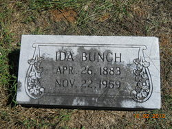 Ida <i>McDaniel</i> Bunch