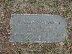 Thomas J Clanton