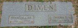 Thelma L <i>Edmonston</i> Diven