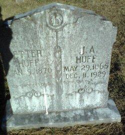 Mary Etter <i>Martin</i> Huff