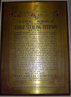 Dr George Sterling Ansel Ryerson