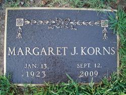 Margaret Jeanie <i>Morgenthaler</i> Korns