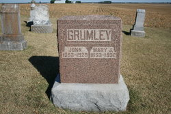 Mrs Mary Jane <i>Mills</i> Grumley