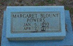 Margaret Mae Maggie <i>Blount</i> Powers